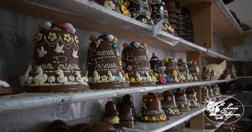 Campane pasquali di Cioccolato e altri dolci